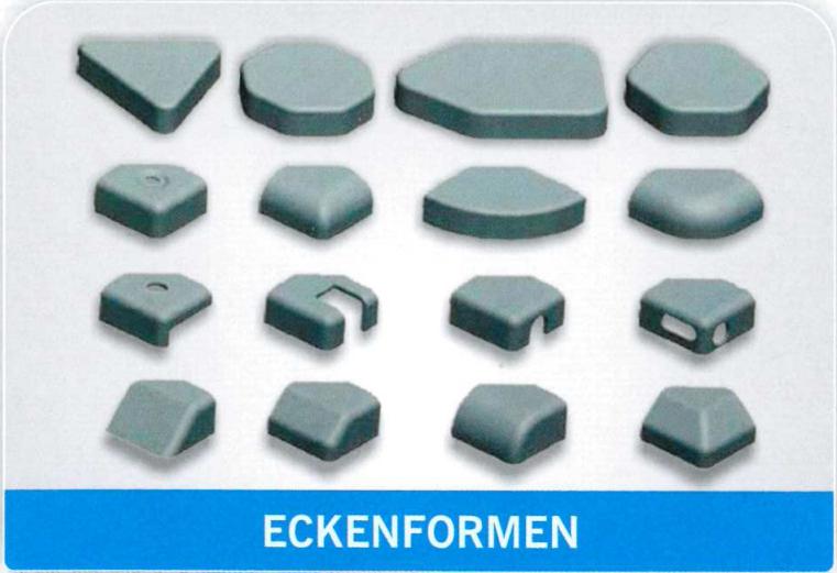 Eckenformen