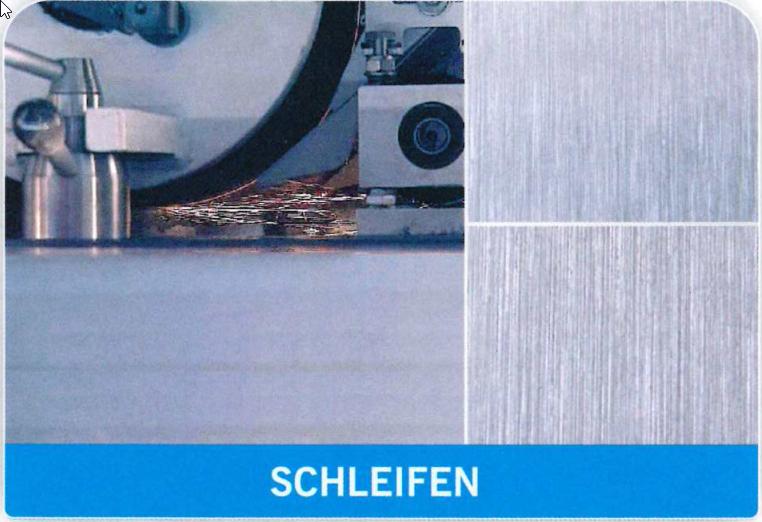 Schleifen-Oberflächen