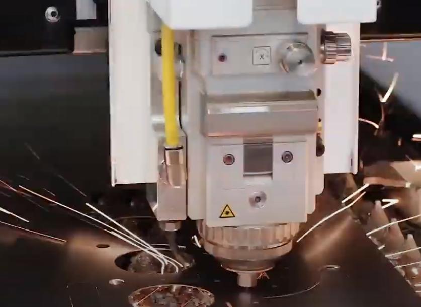 Laserschneiden - Kopf