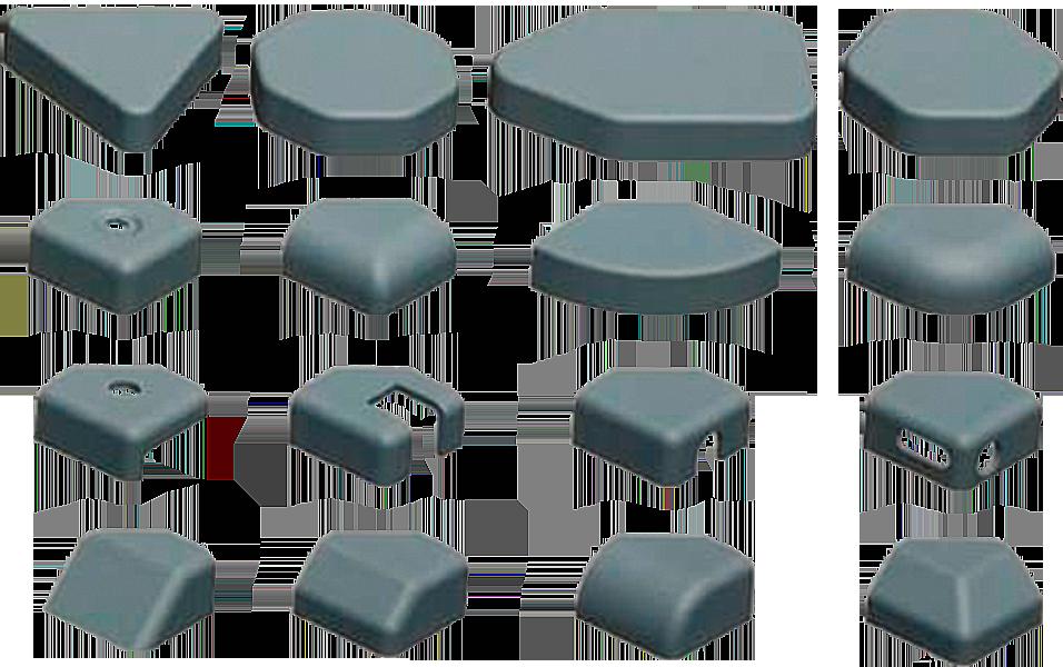 Ecken formen
